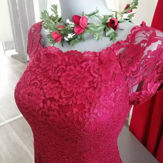 krajkové šaty,vel.38,44,zapínání na zip